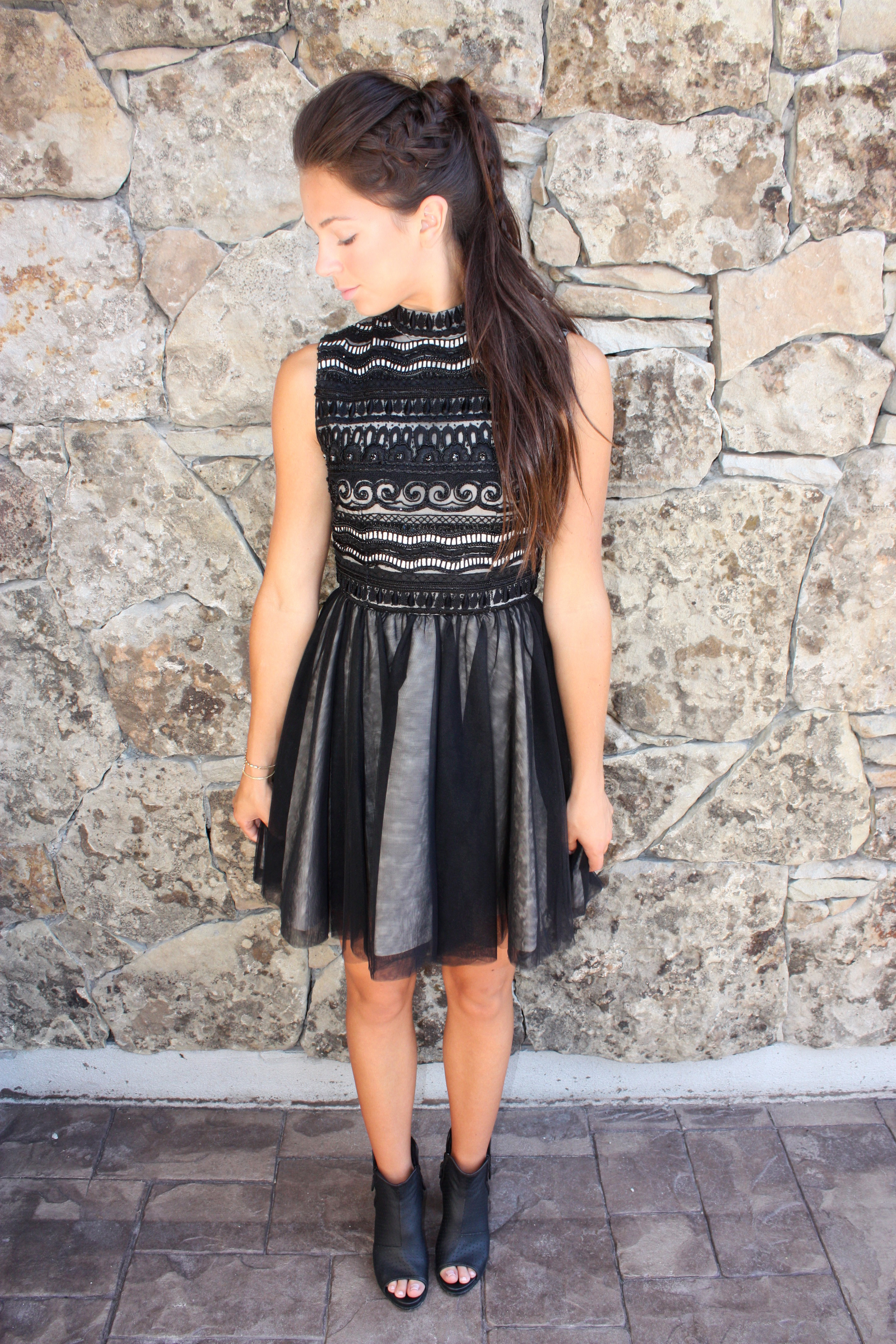 Alice and Olivia Dress Love Always Tate