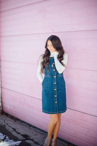 Love Always Tate Denim Dress Feature Image