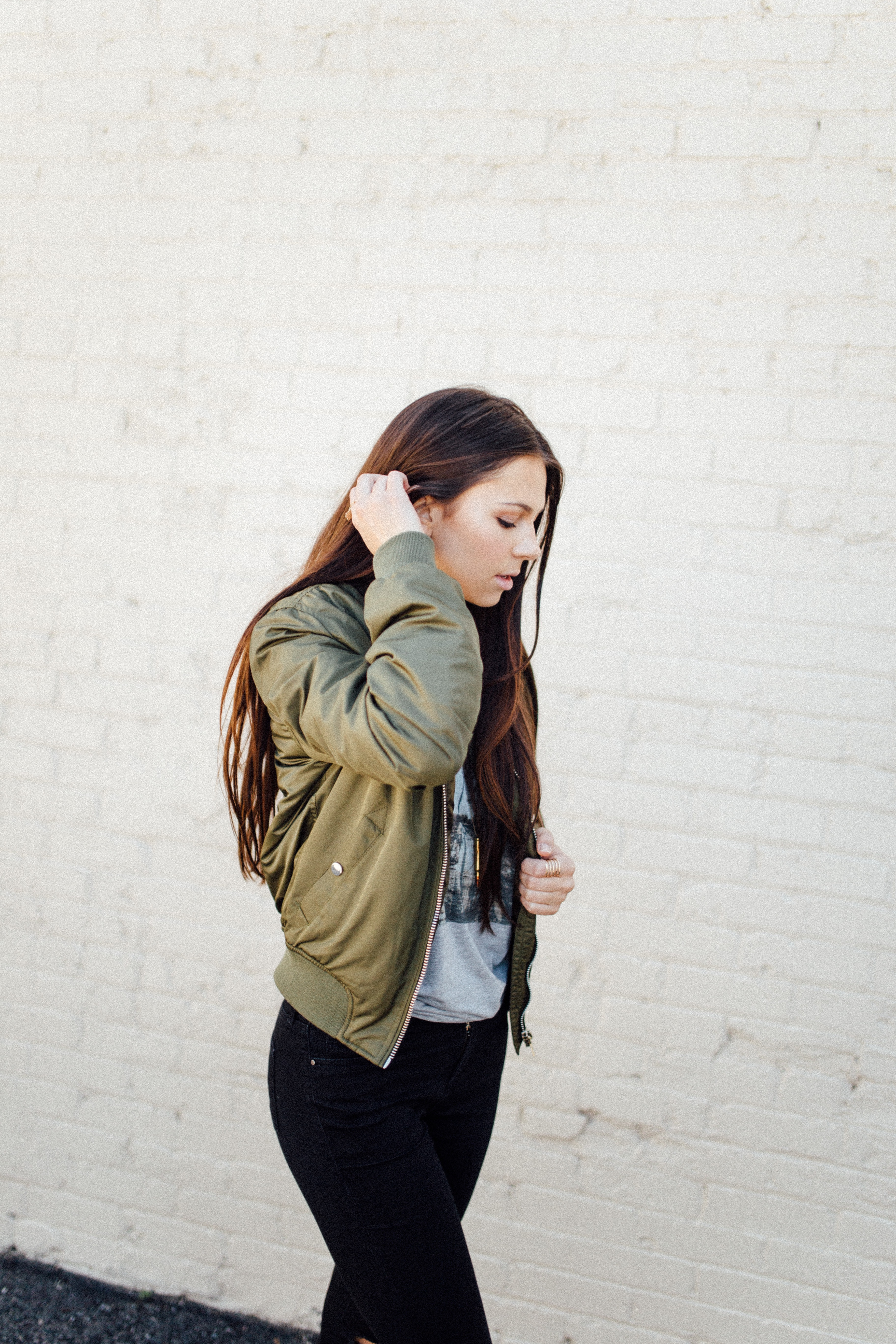 Bomber Jacket Love Always Tate 4