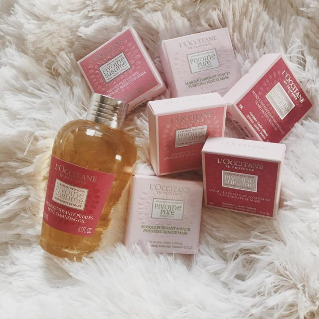 pampering my skin with the new peony collection from loccitaneusahellip