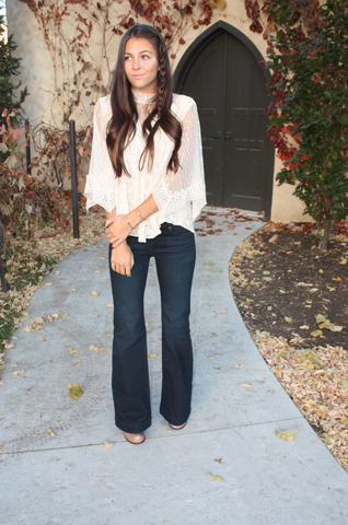 Flared Jeans Free People Love Always Tate